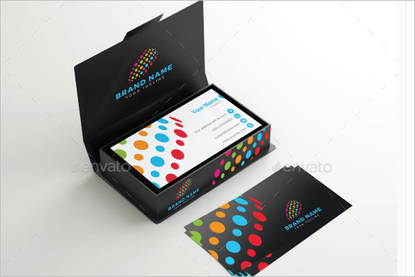 Pocket Business Card Mockup Design