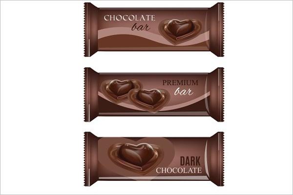Premium Chocolate Bar Set Template