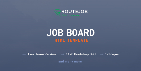 Premium Job Board HTML Template