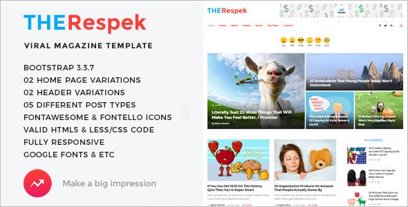 Premium Magazine HTML5 Template