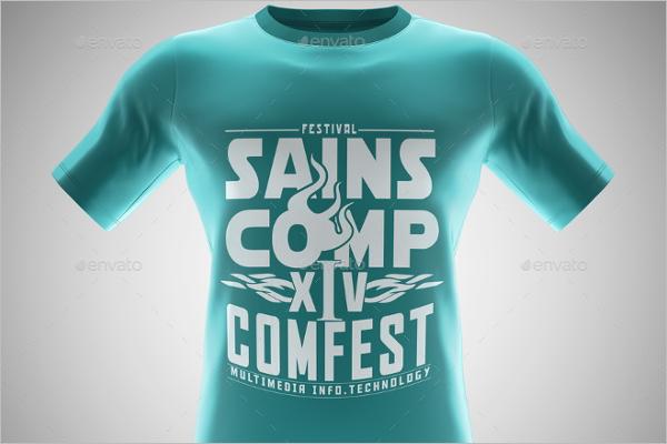Premium T-shirt Mockup Template