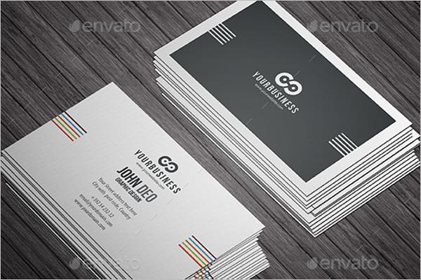 Presentation Business Card Mockup Design