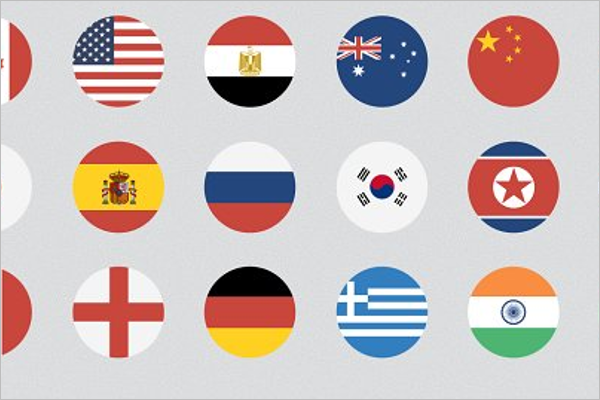 Printable Flags Design