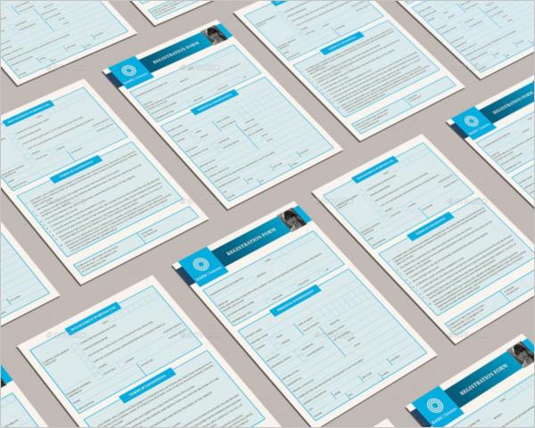 Professional Registration Letter Template