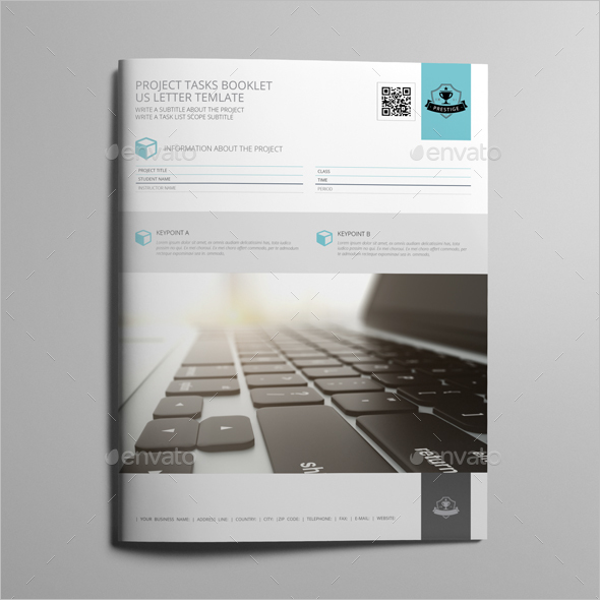 Project Task Booklet Template
