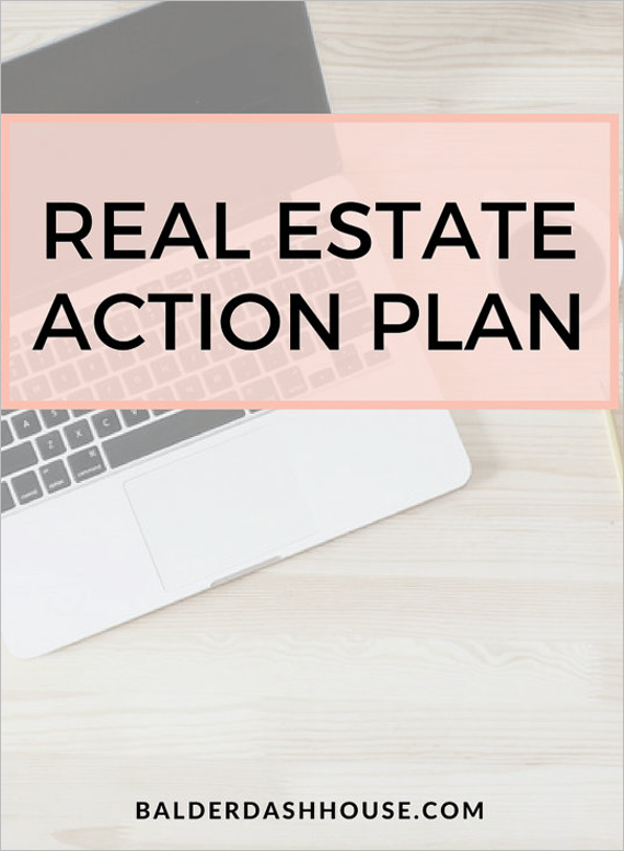 Real Estate Action Plan Template
