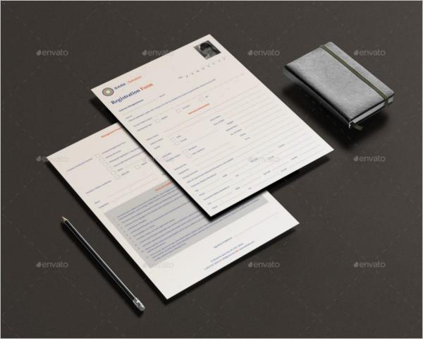 Realistic Registration Letter Template