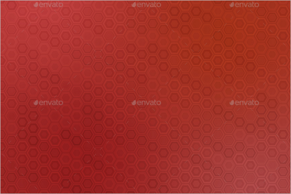 Red Hexagon Background Design