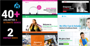 Responsive Multi-Purpose Drupal 8 Theme