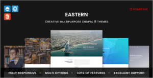 Responsive Multipurpose Business Drupal 8 Theme