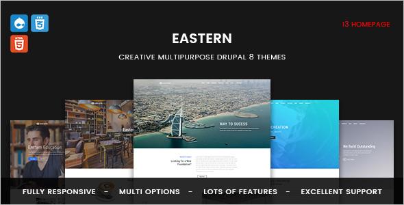 Responsive Multipurpose Business Drupal 8 Theme