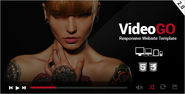 Responsive Video Site Template