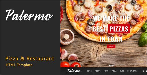 Restaurant HTML CSS Template