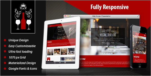 Restaurant Management Template