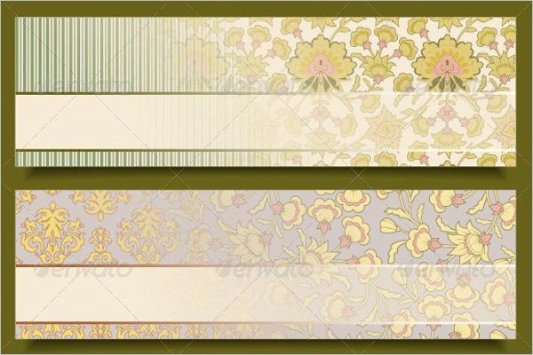Retro Floral Pattern Design