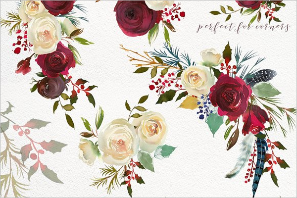 Rose Floral Design Kit