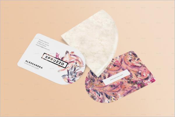 RoundBusiness Card Mockup Design