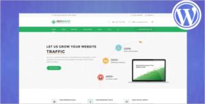 SEO Service & Marketing WordPress Theme