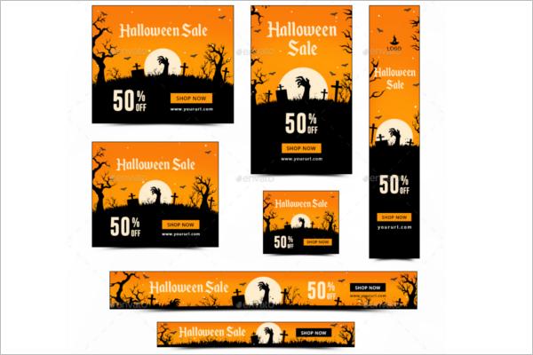 Sacre Halloween Banner idea