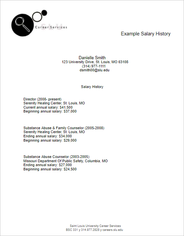 Salary Payment Template