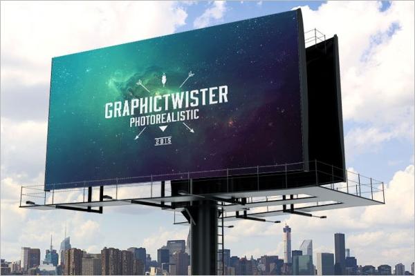 Sample Advertising Mockup Template