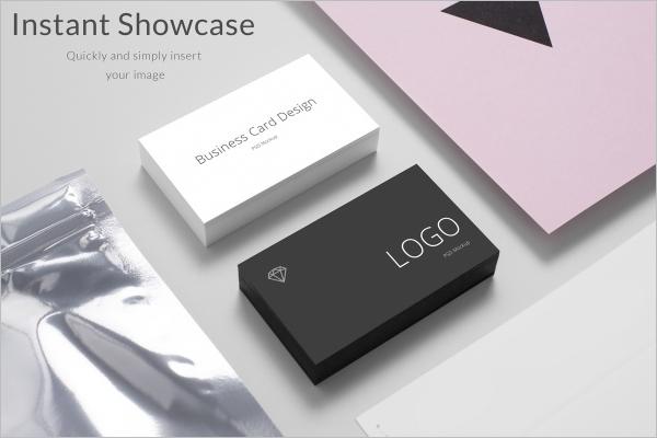 Sample Business Card Mockup Design