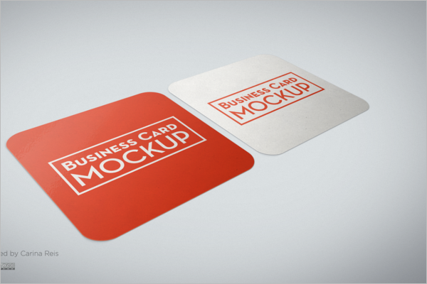 Sample Business Card Mockup