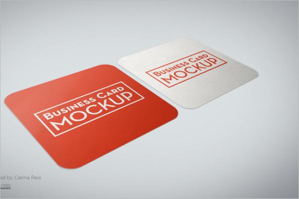 Sample Business Card Mockup