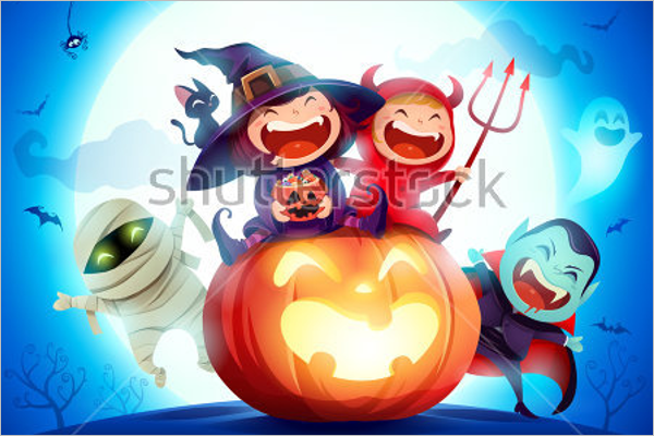 Sample Halloween Background
