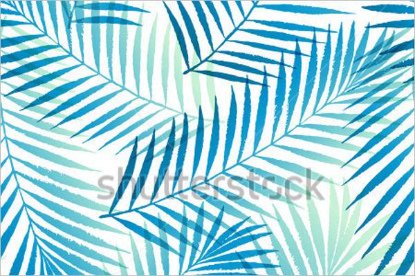 Sample Leaves Seamless Pattern