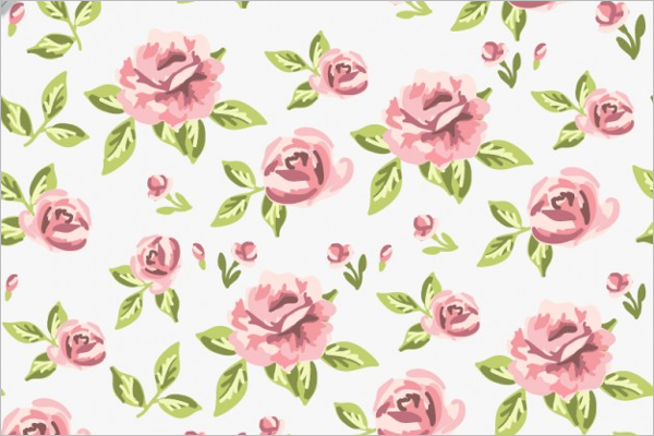 Sample Rose Seamless Pattern