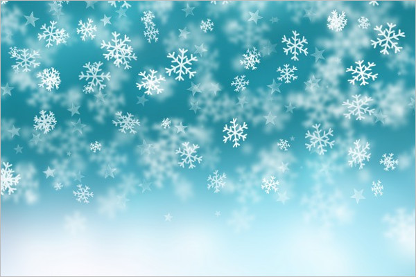 Sample Winter Background Template