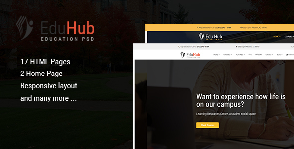 School Education HTML Template