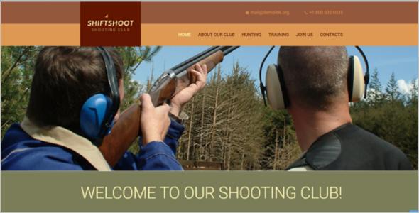Shiftshoot Website Template