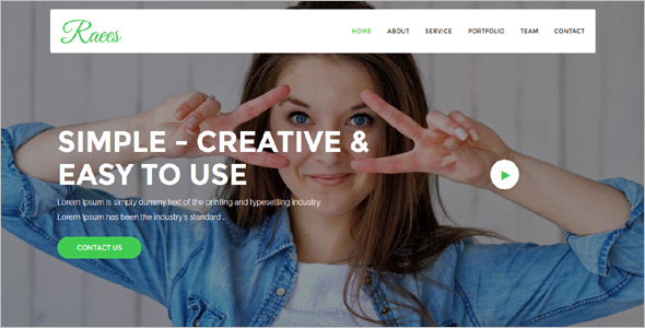 Simple Agency HTML5 Template