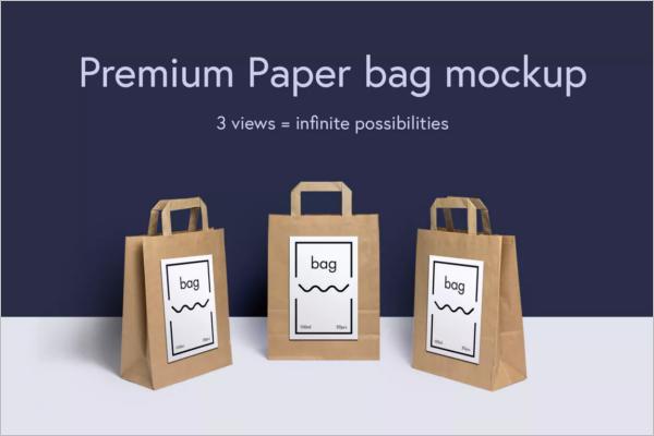 Simple Bag Mockup Template