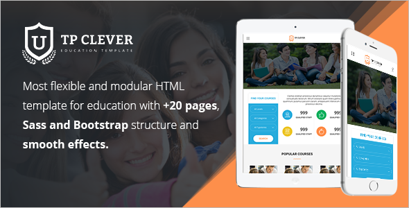 Simple Education HTML Template