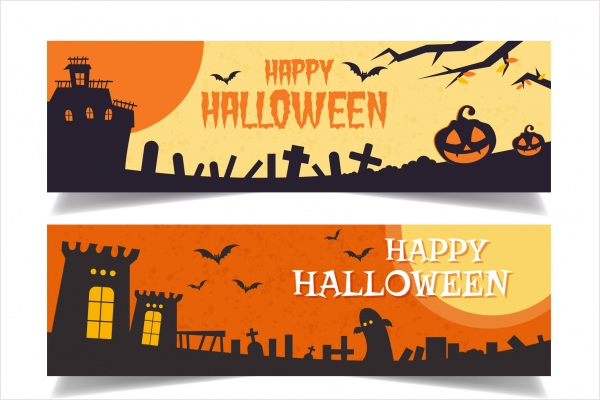 Simple Halloween Banner Idea