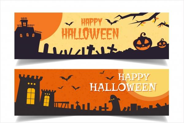 Simple Halloween Banner Idea