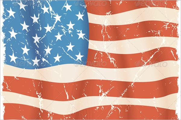Simple US Flag Vector
