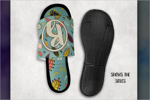 Slippers Mockup Template