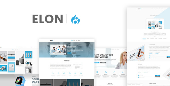 Small Business Drupal 8 Theme