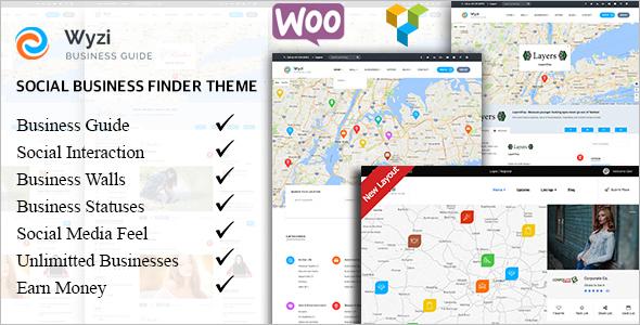 Social Business WordPress Theme