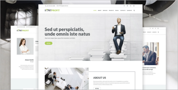 SortProfit Business WordPress Theme