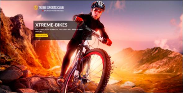 Sports Club HTML Template