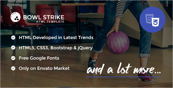 Sports HTML Bootstrap Theme