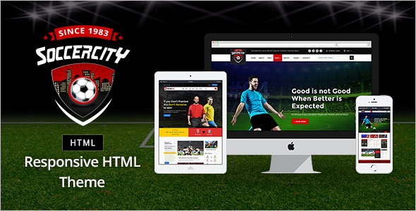 Sports HTML Template