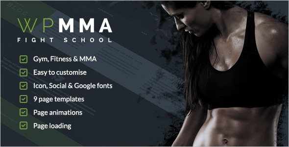 Sports Website Template