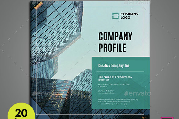 42 company profile templates free word pdf ppt psd formats square company profile template friedricerecipe Image collections