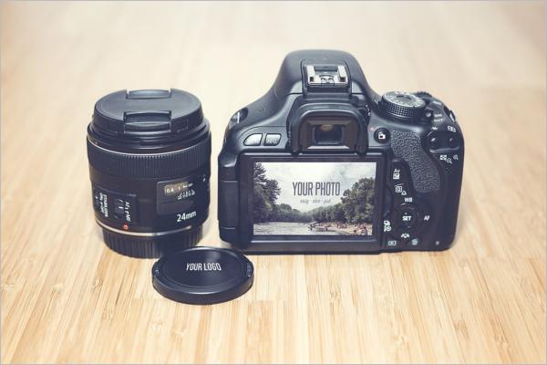 StockCamera Mockup Design